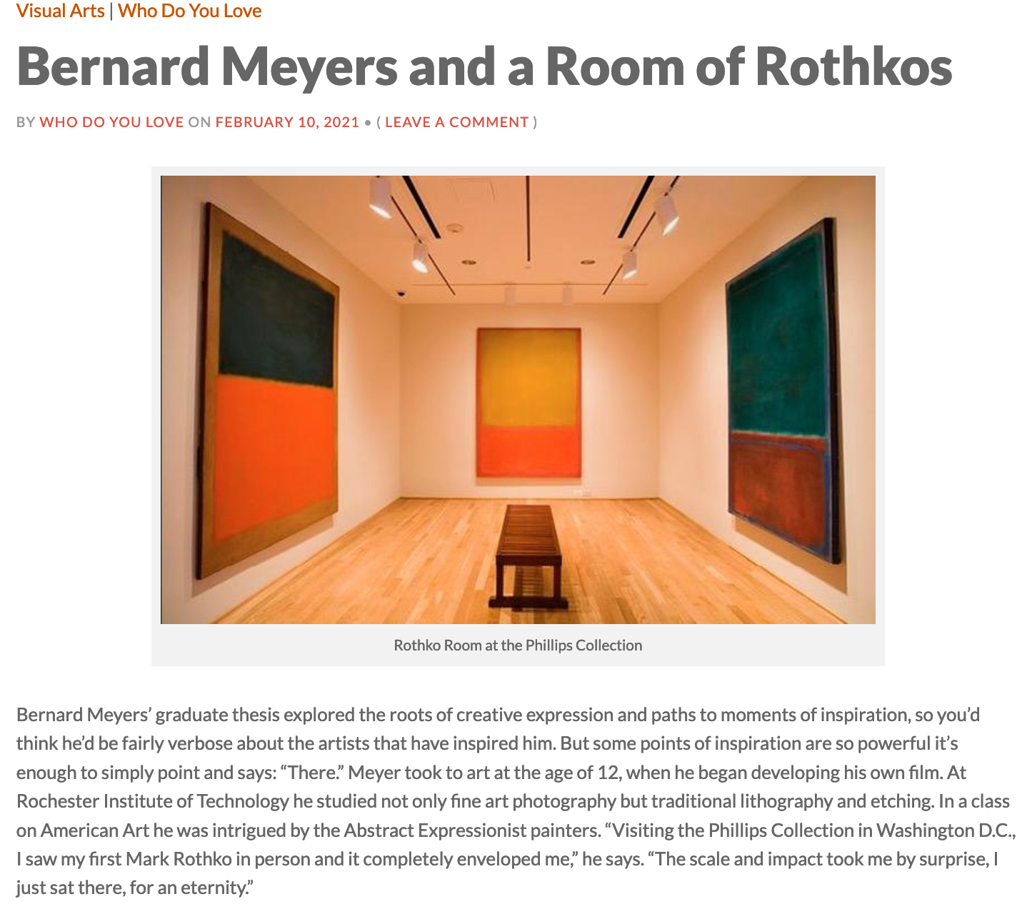 utah press Rothko and meyers